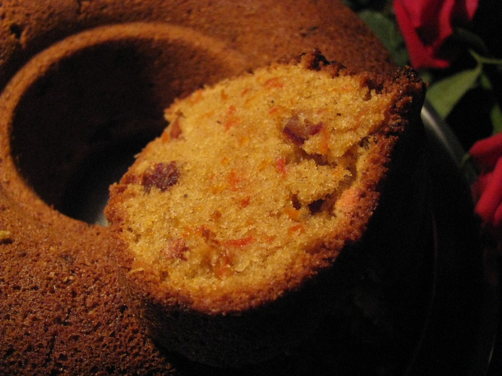 Whole Wheat Carrot Cake Indian