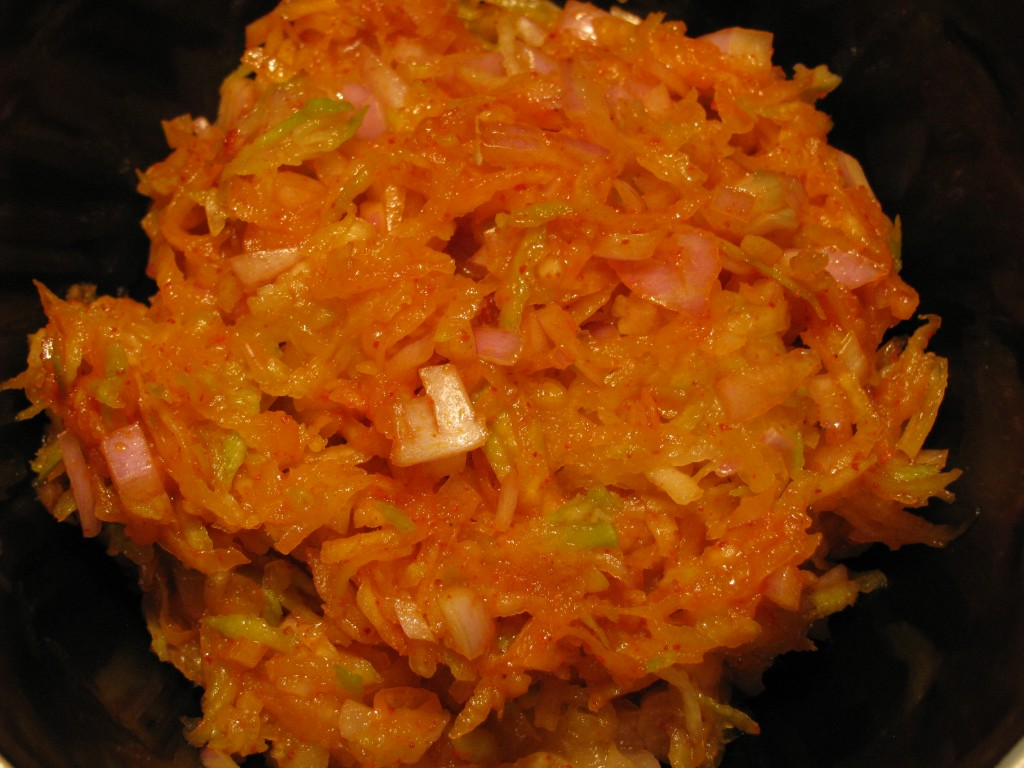 Green Mango Salad | Kachumber Salad Recipe With Raw Mango