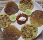 Pudla | Chickpea flour pancake